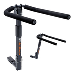 Jet Black 4 Bike Folding Rack