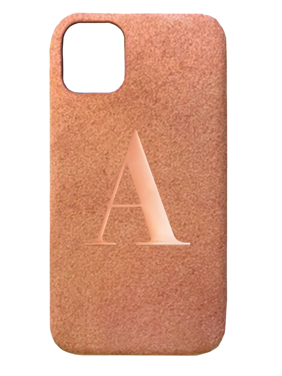 Soft Pink Suede effect - iPhone XR / iPhone 11