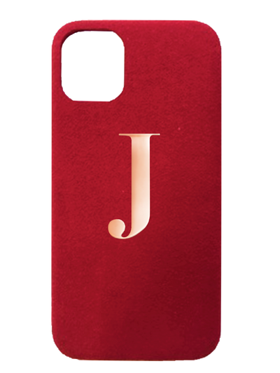 Bold Red Suede effect - iPhone XR / iPhone 11