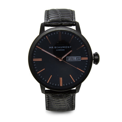 Mr Beaumont Vintage Black Case/Black Dial