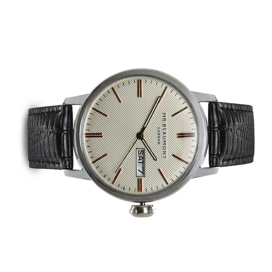 Mr Beaumont Vintage Silver Case/Silver Dial