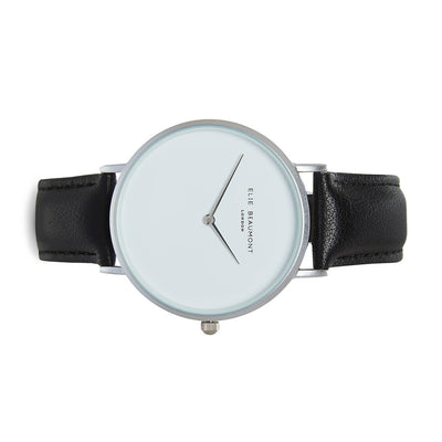 Hoxton White Dial Black