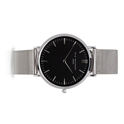 Oxford Large Mesh Silver/Black