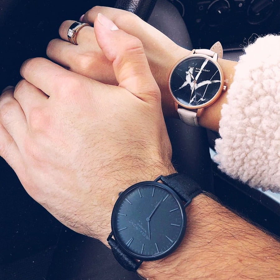 Mr Beaumont Vegan Black Dial/Black