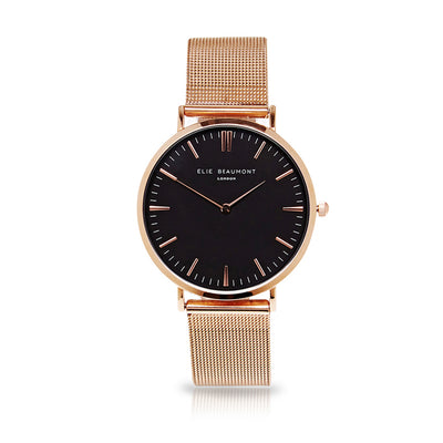 Oxford Small Mesh Rosegold/Black