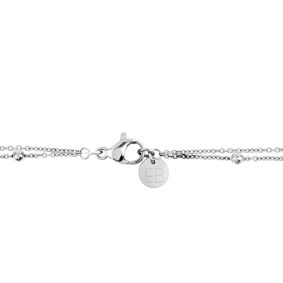 EB3802 Necklace Silver