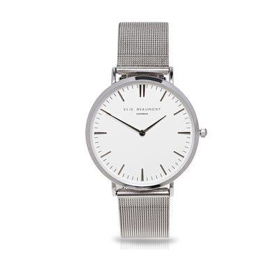 Oxford Small Mesh Silver