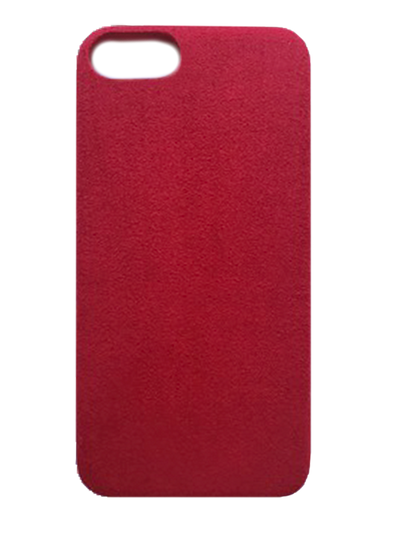Bold Red Suede effect - iPhone 6/6s/7/8