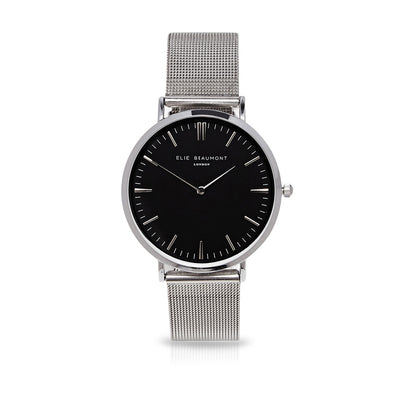 Oxford Small Mesh Silver/Black