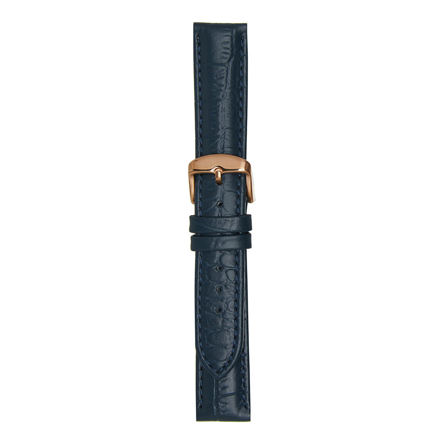 Large Croc Denim Strap