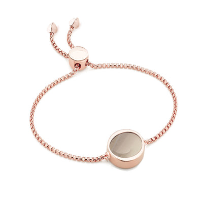 EB2802 Bracelet Rose with Grey Agate