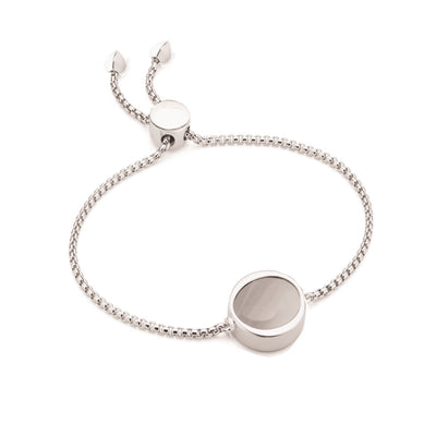 EB2802 Bracelet Silver with Grey Agate