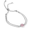 EB2803 Bracelet Silver with Rose Quartz