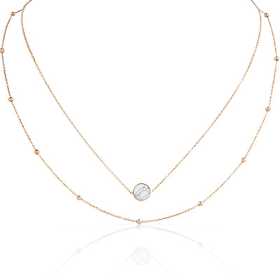 EB3802 Necklace Rose