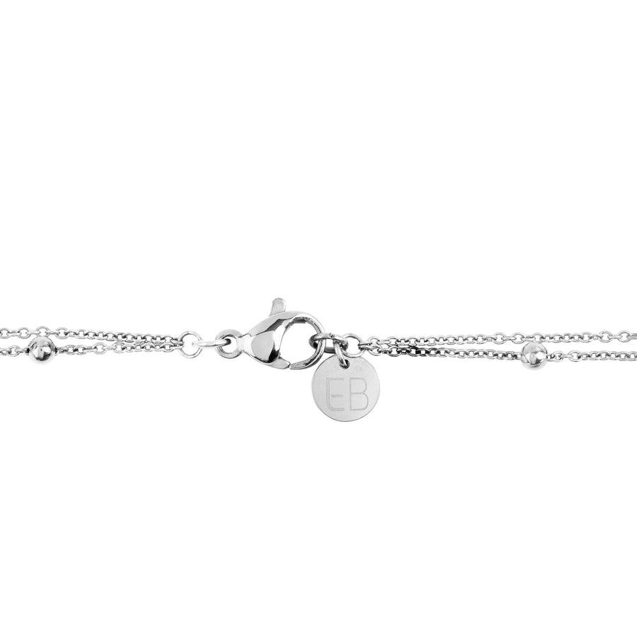 EB3801 Necklace Silver