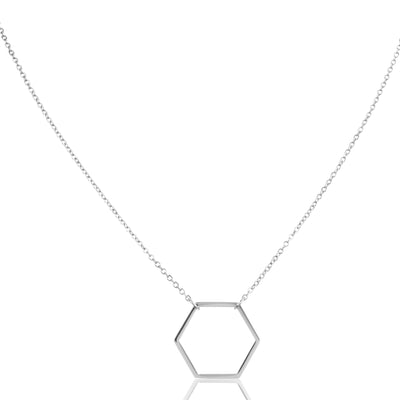 EB3803 Necklace Silver