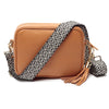 Crossbody Tan (Knitted Diamond strap)