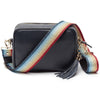 Crossbody Navy (Rainbow Strap)