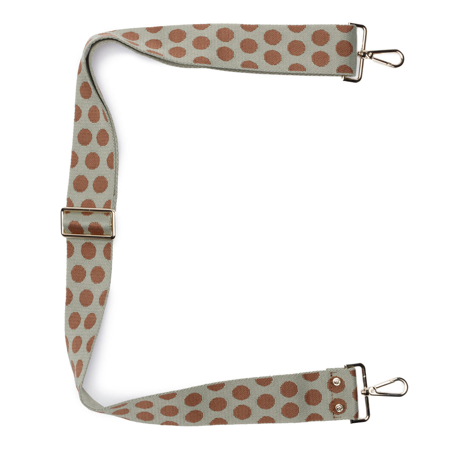 Crossbody strap - Polka Dots