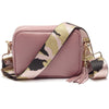 Crossbody Dusty Rose (Pink Camouflage strap)
