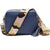 Crossbody Navy (Pink Camouflage Strap)