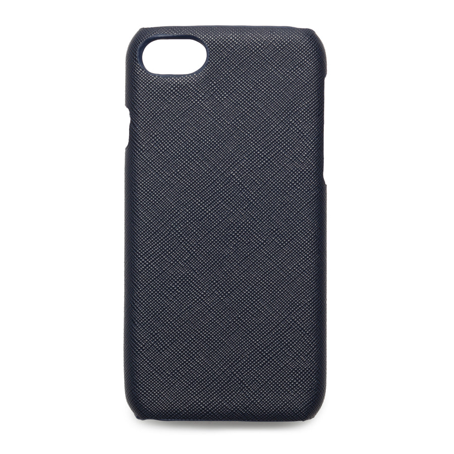 Navy Blue Saffiano - iPhone 6/6s/7/8