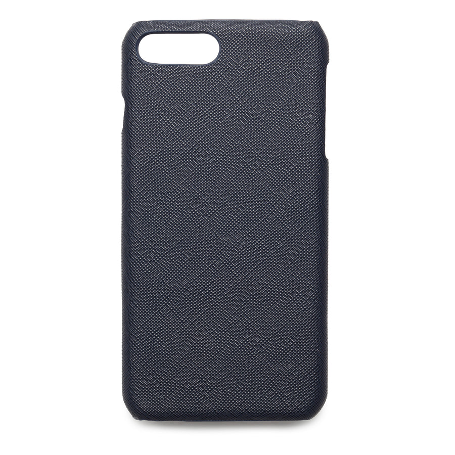 Navy Blue Saffiano - iPhone 7 Plus / 8 Plus