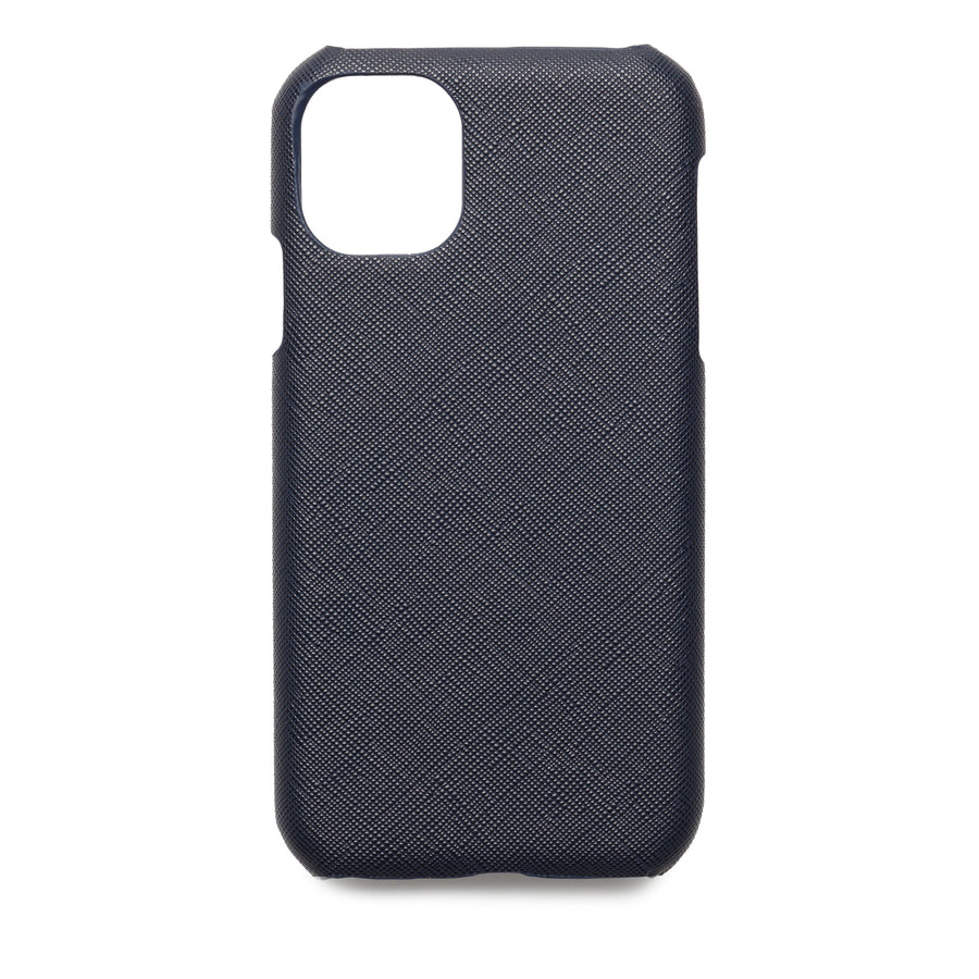 Navy Blue Saffiano - iPhone XR / iPhone 11