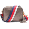 Crossbody Metallic Bronze (Tricolour Strap)