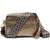 Crossbody Metallic Bronze (Blue Diamond Strap)