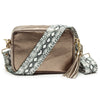Crossbody Metallic Bronze (Python Strap)