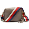 Crossbody Grey (Tricolour Strap)