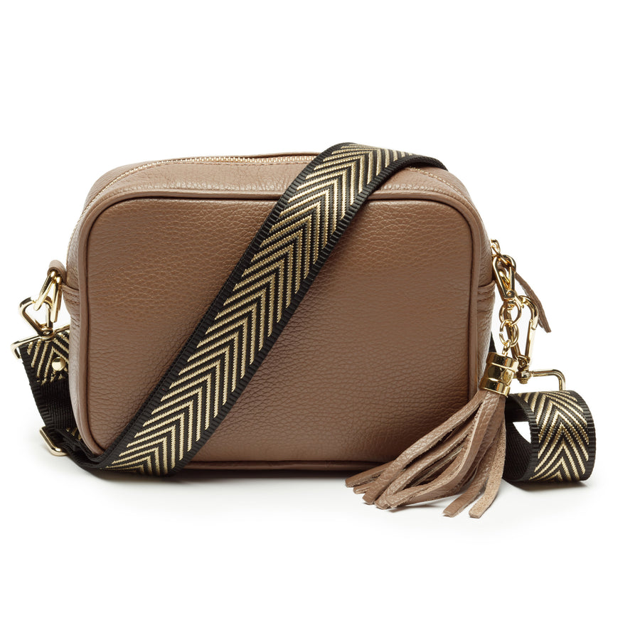 Crossbody Metallic Bronze Tricolour
