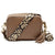 Crossbody Taupe (Leopard Strap)