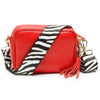 Crossbody Red (Zebra Strap)
