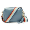 Crossbody Light Blue (Rainbow strap)