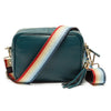 Crossbody Teal (Rainbow Strap)