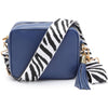 Crossbody Navy (Zebra Strap)