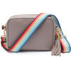 Crossbody Grey (Rainbow)