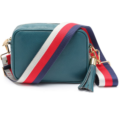 Crossbody Teal (Tricolour Strap)