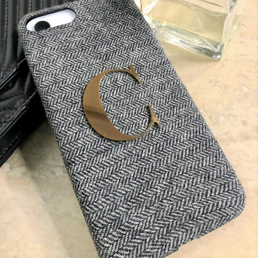 Slate Grey Tweed - iPhone XR / iPhone 11