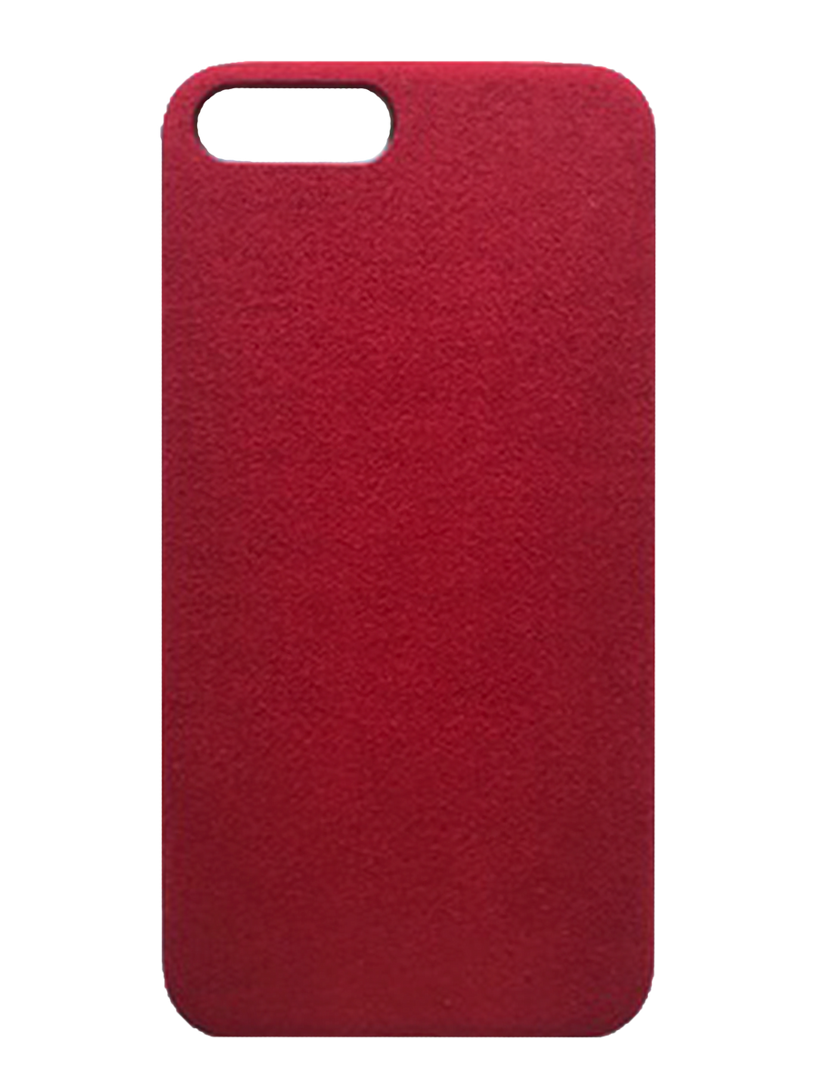 Bold Red Suede effect - iPhone 7 Plus / 8 Plus