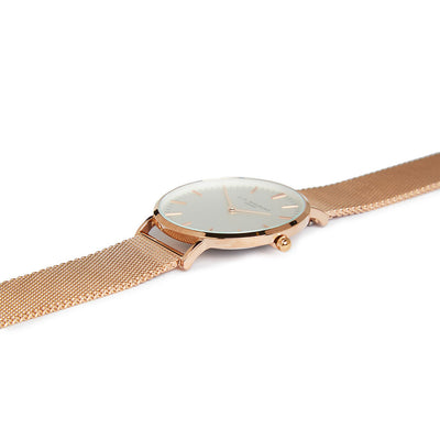 Oxford Large Mesh Rosegold