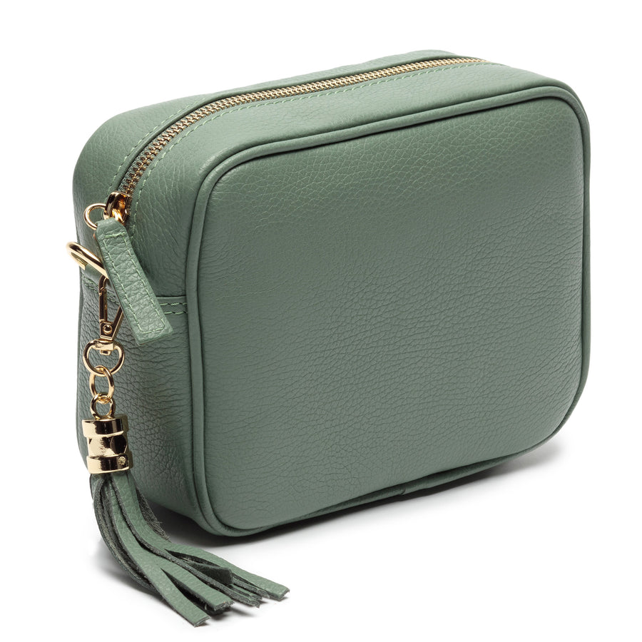 Crossbody Mint (Champagne Stripes Strap)