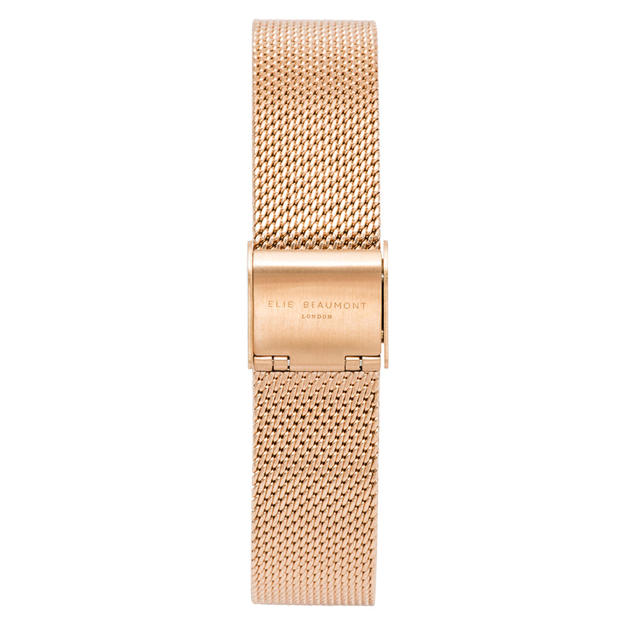 Oxford Small Mesh Rosegold Strap