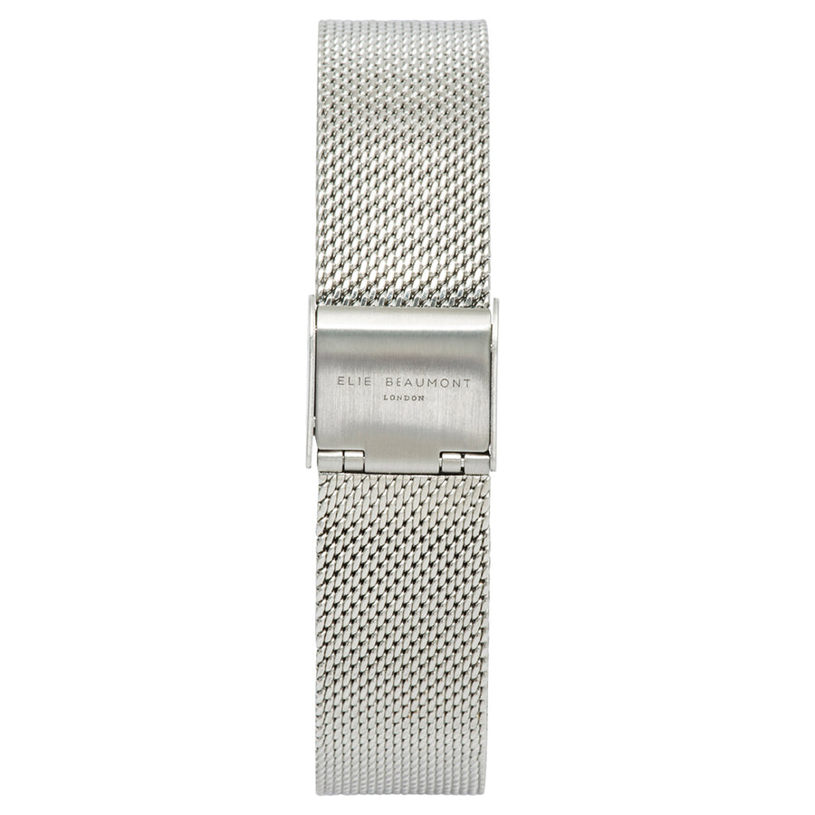 Oxford Small Mesh Silver Strap