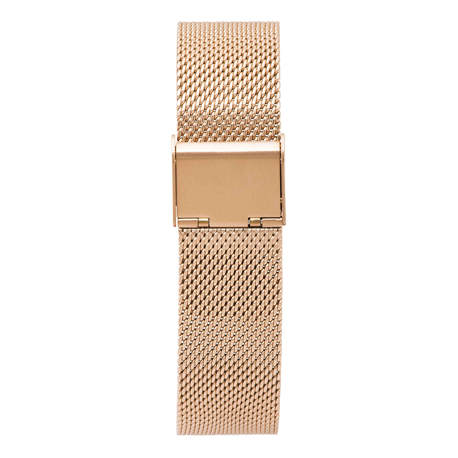 Oxford Large Mesh Rosegold Strap
