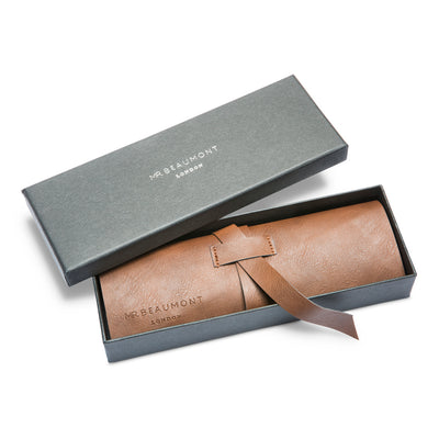 Mr. Beaumont complimentary gift box and pouch