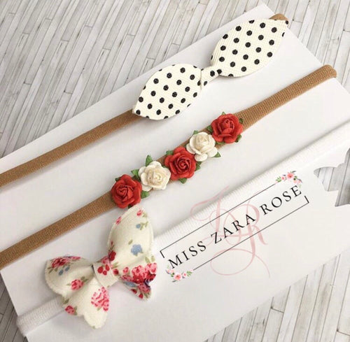 The 'Enchanted Garden' Bow  Set