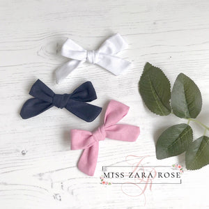 The Essential Evelyn Bow Set (3 sizes available)